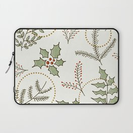 Classic Winter #society6 #xmas Laptop Sleeve