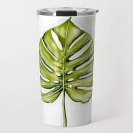Monstera Leaf Travel Mug