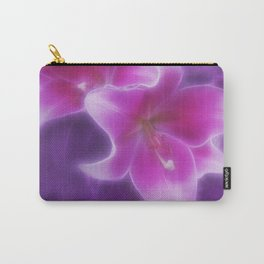 Flower Poesie Carry-All Pouch