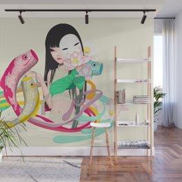 koi dance Wall Mural