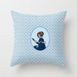 Elizabeth Bennet - Pride and Prejudice Throw Pillow