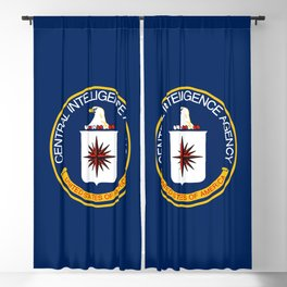 CIA Flag Blackout Curtain