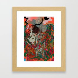 Love is Blind Framed Art Print