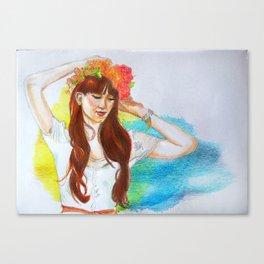 Minnie Canvas Print