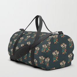 Retro botany Duffle Bag