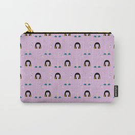 Liz Pattern Carry-All Pouch