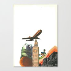 Leaving MoMo City Canvas Print