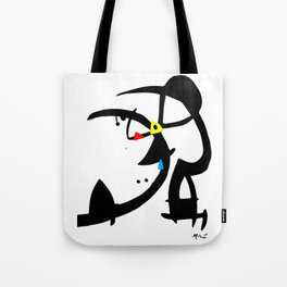 Joan Miro Two Characters Persecuted By A Bird, T Shirt, Art Tote Bag