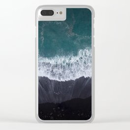 Lanzarote volanic island Clear iPhone Case