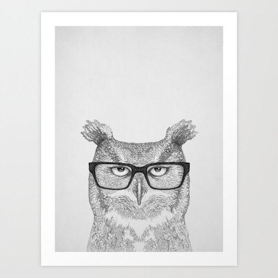 Earnest Art Print
