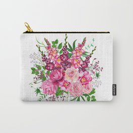 Gladioli and peonies Carry-All Pouch