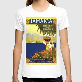 Poster travel Jamaica T-shirt