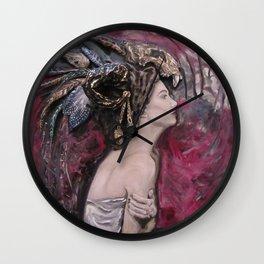 Queen of Shamans Wall Clock