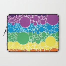 Rainbow Circles Laptop Sleeve