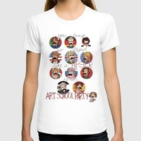 hetalia T-shirts featuring Art School Party by invisibleinnocence