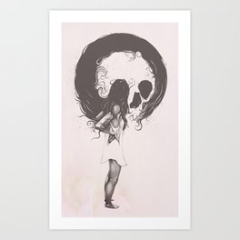 Apprehension Art Print