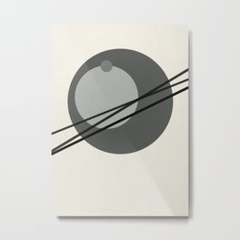 Juxtapose III Metal Print