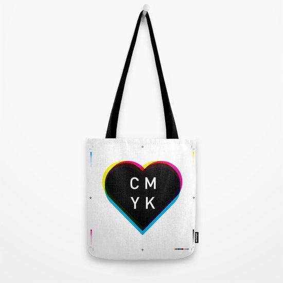Print Love Tote Bag