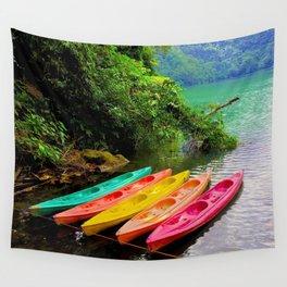Kayak Wall Tapestry