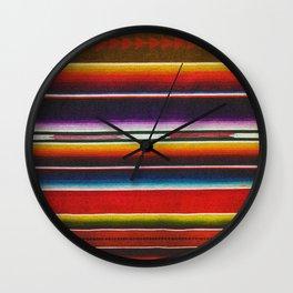 Saltillo Wall Clock