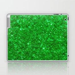 Glitter Green Laptop & iPad Skin