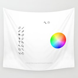 Art Interface - Hand Drawn Wall Tapestry