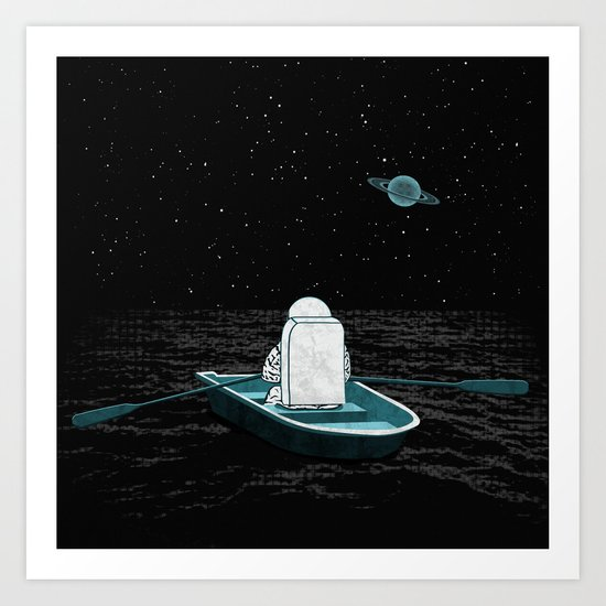 A Space Odyssey Art Print