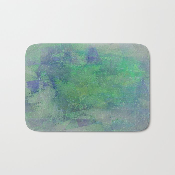 HANDPAINTED WATERCOLOR DREAMS Bath Mat