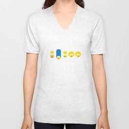 The Simpsons Unisex V-Neck