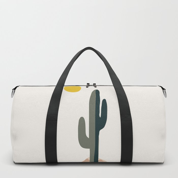 Cactus and the Rising Sun Duffle Bag