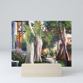 Barranco - Bridge of sighs #eclectic art Mini Art Print