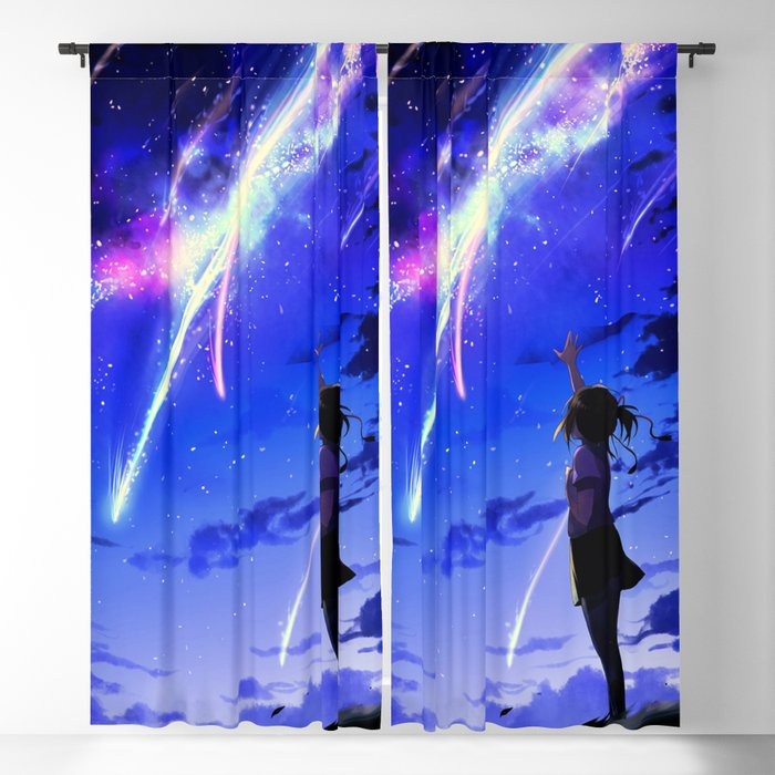 "Kimi No Na Wa ""Your Name"" v1 Blackout Curtain"