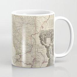 Russia And Poland 1730 Coffee Mug