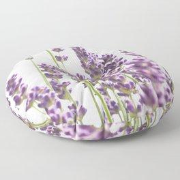 Purple Lavender #3 #decor #art #society6 Floor Pillow