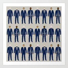 Very Mod Squad; Bauhaus Movement Art Print