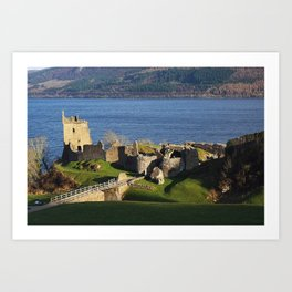 Urquhart Castle - Scotland Art Print