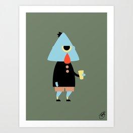 Mortimer Art Print
