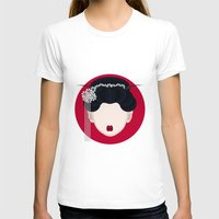 geisha T-shirts featuring Geisha by Simoon
