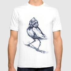 Do not kill the mockingbird Mens Fitted Tee White MEDIUM