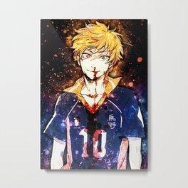 Haikyuu Hinatas Shouyou Metal Print