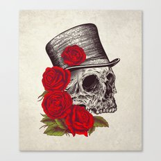 Dead Gentleman Canvas Print