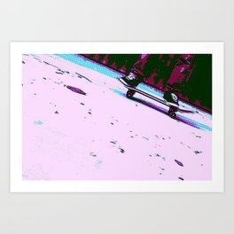 Rolling By Art Print