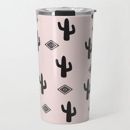 Blush Urban Cactus Travel Mug