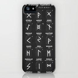 Viking Runes iPhone Case