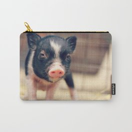 Piebald Pig puppy for Pig Lovers                                        Carry-All Pouch