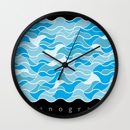 Oceanography Wall Clock