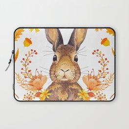 Autumn Rabbit Laptop Sleeve
