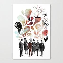 Collective Conscious Canvas Print