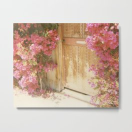 California Bougainvillea Metal Print