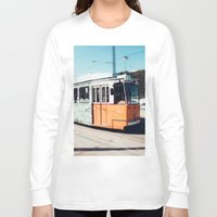 budapest Long Sleeve T-shirts featuring Budapest by Johnny Frazer